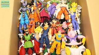 DRAGON BALL FIGURES S.H.FIGUARTS AND DRAGON STARS COLLECTION #dragonball #dragonstars