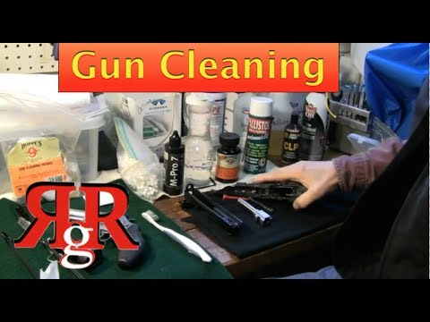 Not Just Another..Gun Cleaning Video
