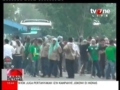 Pendukung Jokowi Dan Prabowo Bentrok Di Yogyakarta Memalukan