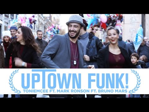 MARK RONSON FT. BRUNO MARS - Uptown Funk - Toniemcee