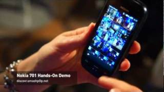 Nokia 701 Symbian Belle Hands-On Demo