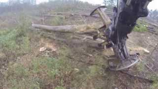 GoPro ~ Swamp Logger ~ Country Boy Logging ~ Tigercat 860 ~