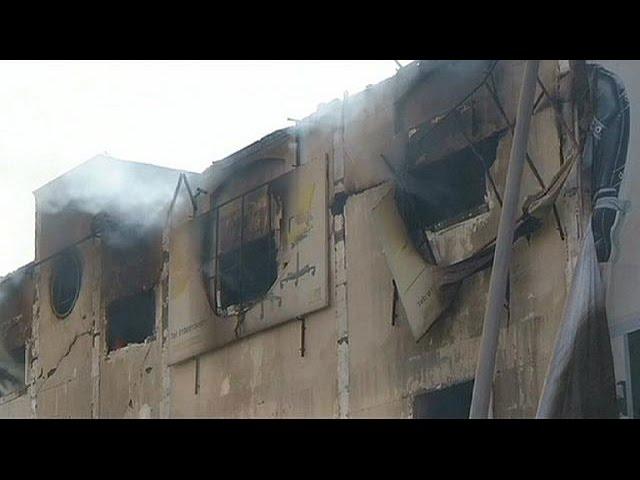 دهها کشته و زخمی بر اثر انفجار کپسول گاز در کارخانه ای در مصر