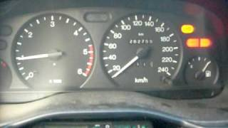 Ford Mondeo 1.8 TD MK2 Cold start at -4C