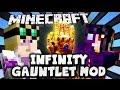 Обзор мода #17 Infinity Gauntlet Перчатка Бесконечности + Декор