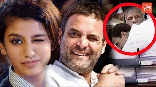 Priya Prakash Varrier Shocking Reply On Rahul Gandhi's Wink