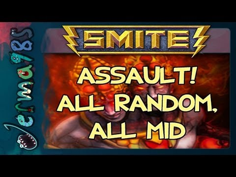 SMITE - Agni: New Game Mode! Assault [ARAM Live Session]