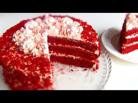 """Торт """"Красный Бархат"""" \ Red Velvet Cake"""