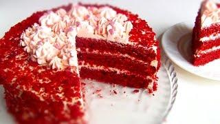 """Торт """"Красный Бархат""""  Red Velvet Cake"""