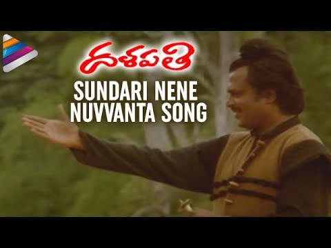 Sundari Nene Nuvvanta Song - Dalapathi Movie Songs - Rajnikanth, Mani Ratnam, Ilayaraja