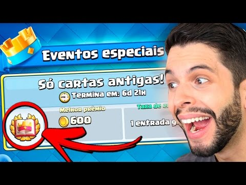 CONFIRMADO NOVO DESAFIO NO CLASH ROYALE! CLASH ROYALE ANTIGO! thumbnail