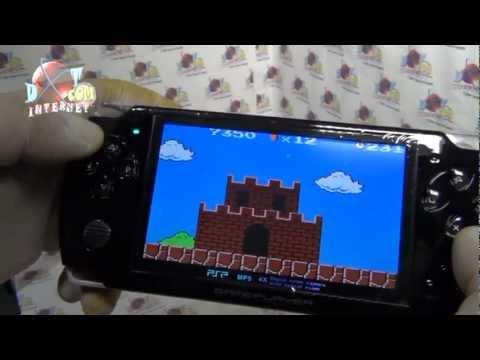 CONSOLA DE JUEGOS MULTIMEDIA TIPO PSP 3000 JUEGOS 8GB