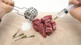 The Fake meat,Glue meat,Injection meat Secret