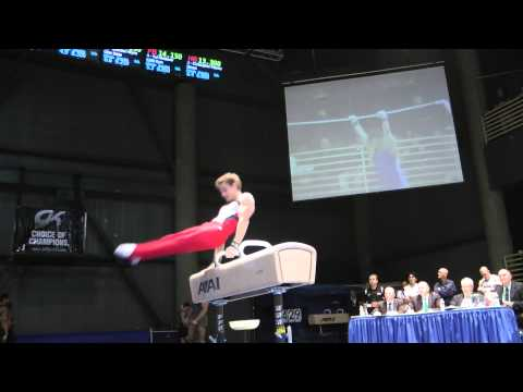 Jacob Dastrop - Pommel Horse - 2012 Winter Cup Finals