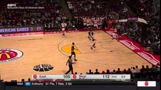Lonzo Ball (UCLA) - Bounce Pass For Alley Oop
