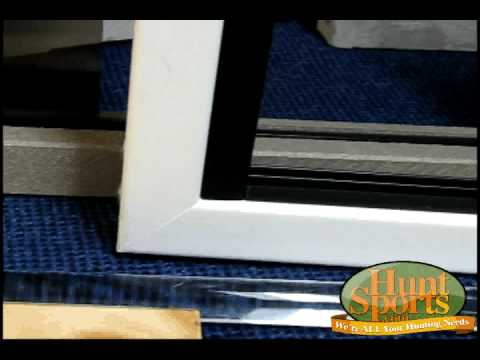 Build Your Own Deer Blind Windows Plans Deerblind Slider Bow Rifle Quiet Slide Window Kits Plans