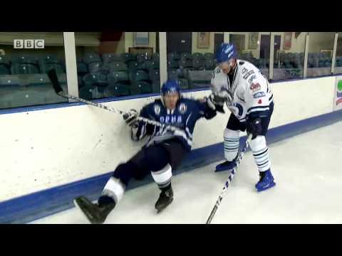 Ice Hockey Chris Evans Breakfast Show Sporting Challenge - BBC Radio 2