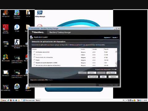 Como actualizar el Sistema Operativo de nuestra Blackberry