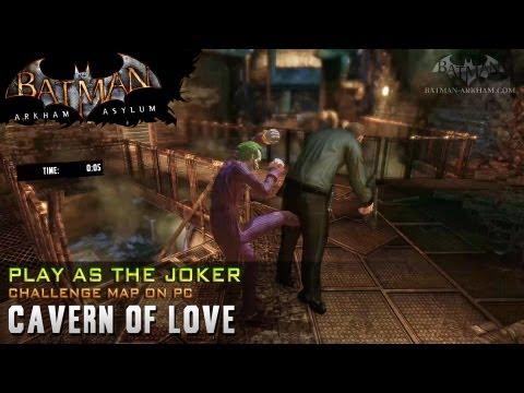 "Batman: Arkham Asylum ""Play as Joker"" - Cavern of Love"