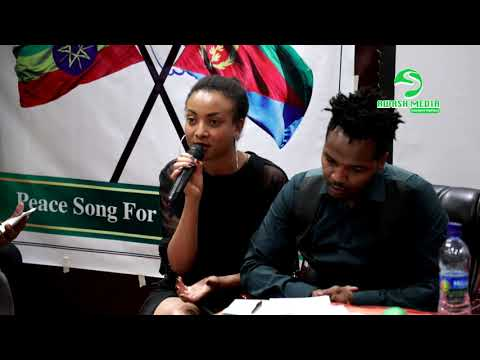 (1.32 MB) 🇪🇹 - 🇪🇷 - Hewan Gebrewold(Jano) Speaking on Peace song for Ethio-Eritrea event -2018