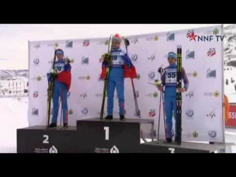 Чемпионат мира по лыжным гонкам среди юниоров 02.02.17 в г Парк Сити Америка