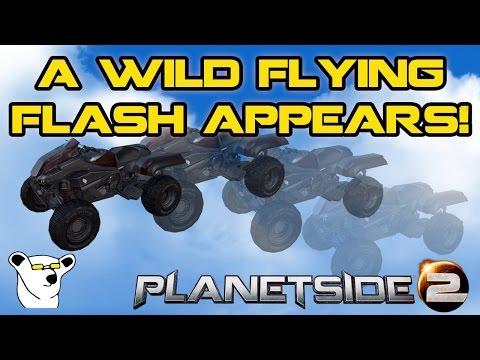 PlanetSide 2 - A Wild Flying Flash Appears!