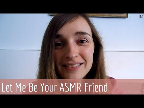 ASMR Soft Spoken Interactive RP - Let me be your ASMR Friend (Part 1)
