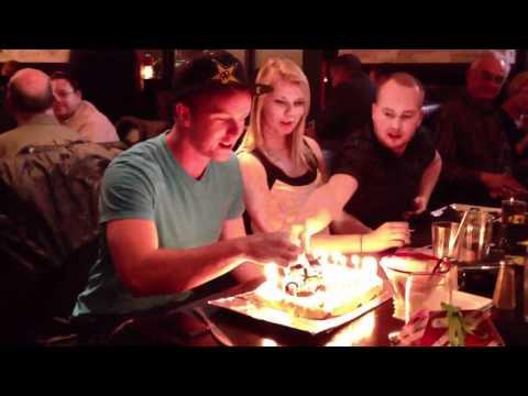 Mark Freeman 408's 22nd Birthday at Tony Roma's Dec 20, 2011
