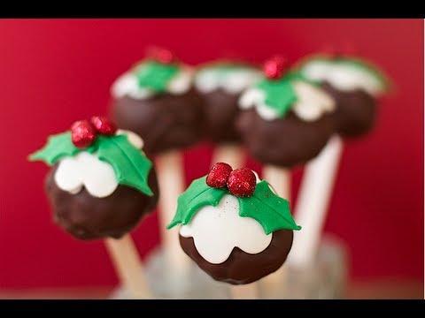 Lollipop delle feste – Le ricette di DELIZIEePASTICCi