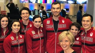 Canadian figure-skating team wins Olympic gold