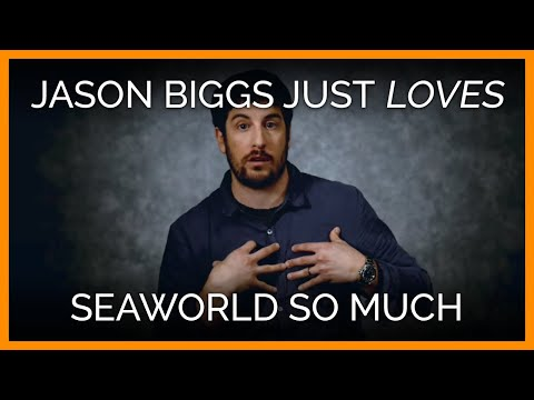Jason Biggs Loves SeaWorld So Much! He Just Loves It!