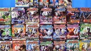 Ultraman Toys Collection Ultraman VS Set ,X Armor Change Zero,Ginga,Victory,Leo,Seven,Hikari,Taro