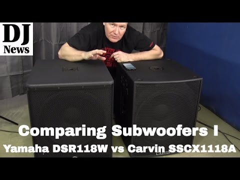 Comparing 18 Subwoofers: By John Young of the Disc Jockey News #discjockeynews