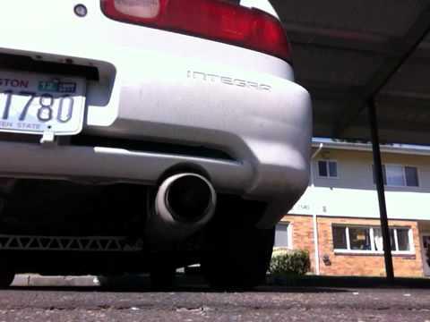 Exhaust Integra Exhaust Integra Gsr