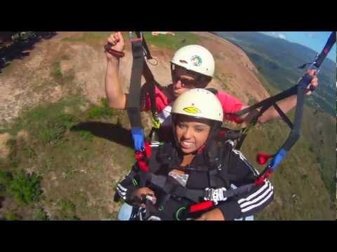 Volando en Parapente desde Nirgua-Yaracuy (Venezuela)