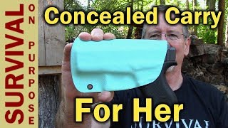 My Wife's New Hawg Holster For Her Glock 43 - CCW For Women