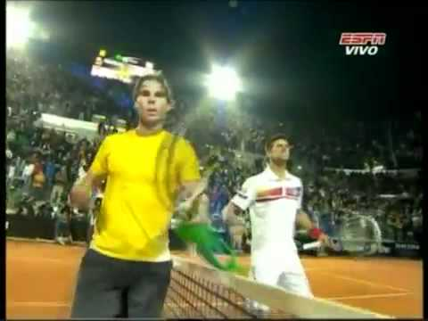 Novak Djokovic vs Rafael Nadal ROME 2011 Match Point