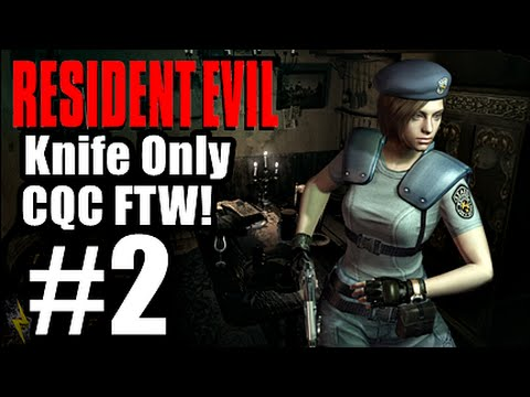 Resident Evil Remastered Hd - Jill Knife Only [cqc Ftw!] Part 2 - China!? video