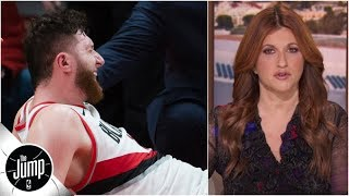 Jusuf Nurkic's injury shows that everything can change in an instant | The Jump