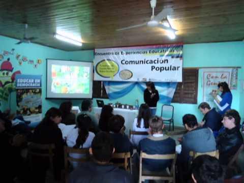 Primer Encuentro de Experiencias Educativas en Comunicación Popular en el Chaco