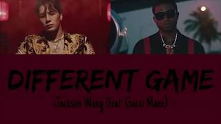 Jackson Wang Different Game Feat Gucci Mane