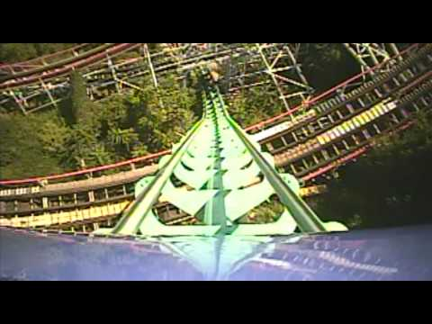 Phantom's Revenge Roller Coaster Front Seat POV Onride Kennywood PA Pittsburgh