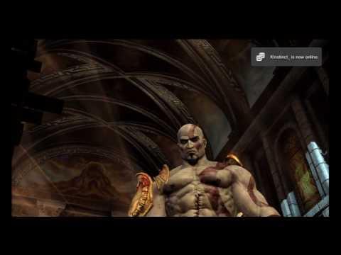 God of War 3 - Kratos vs Hermes Boss Battle (HD)