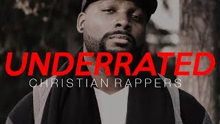 5 Underrated Christian Rappers you NEED to Hear