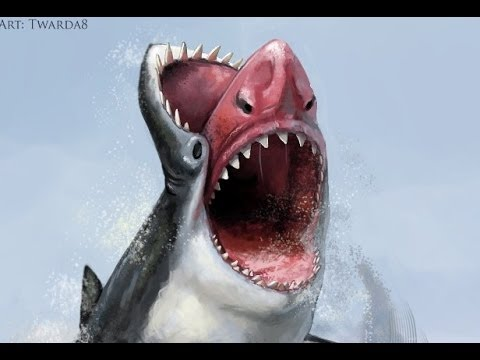 Face Shark painting [GIMP]