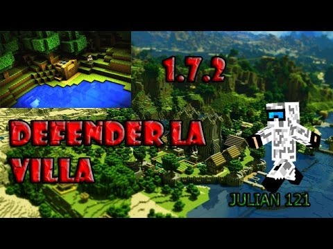 Server Defender la villa Minecraft 1.7.2 NO PREMIUM 100%