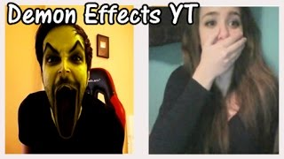 CHATROULETTE I Demon effects con @NexxuzHD @AndrosLB @TuMamaMeToca y @PandaGirls4 (R)