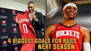 The 4 BIGGEST GOALS for Russell Westbrook Heading into the Next NBA Season!