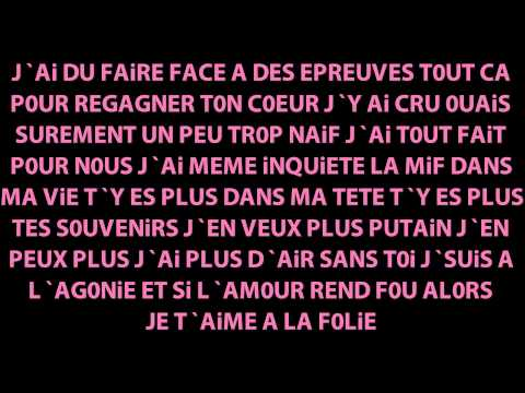 ♫♪ Chanson d'amour triste 2 (rap 2011) + paroles. ♥