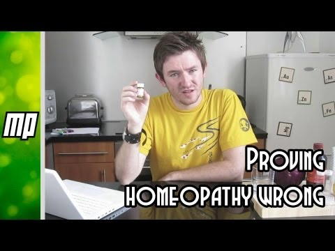 Proving homeopathy wrong in your kitchen